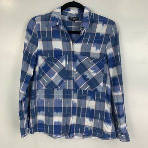 2 for $20 Topshop Plaid Button Down Shirt